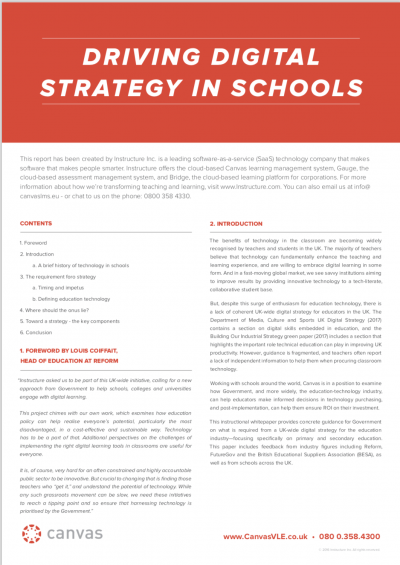 Our report was written in collaboration with 50 education groups